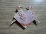 Paper Crafts Heart and Bird ( H