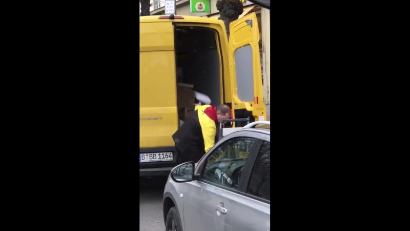 DHL und Berlin das passt einfach