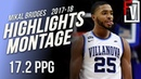 Mikal Bridges Villanova Junior Highlights Montage 2017-2018 | 17.2 PPG, Top 10 Pick!