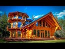 🔴 Beautiful Wooden Houses Made Of Wild Log! 🔨 Part № 2