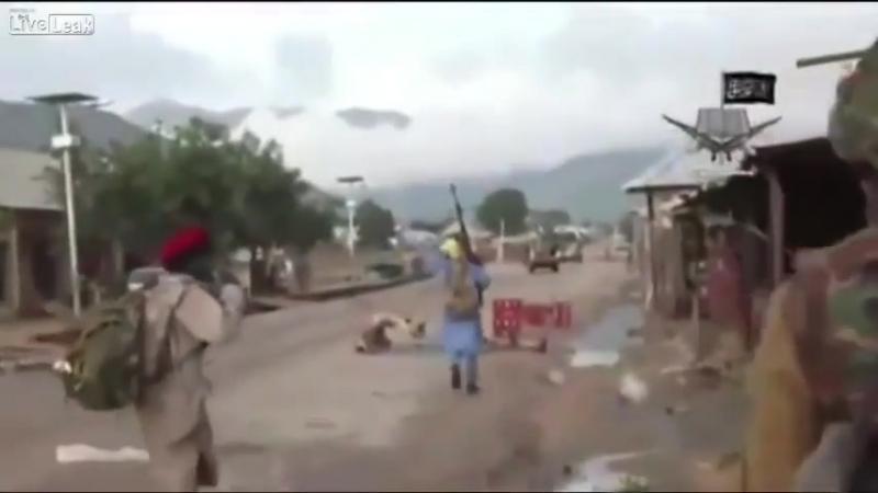 Боевики Боко харам ведут боевые действия в Нигерии