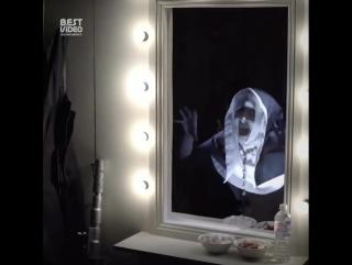 Стремный пранк с зеркалом