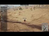 Улетел от гранаты в PUBG