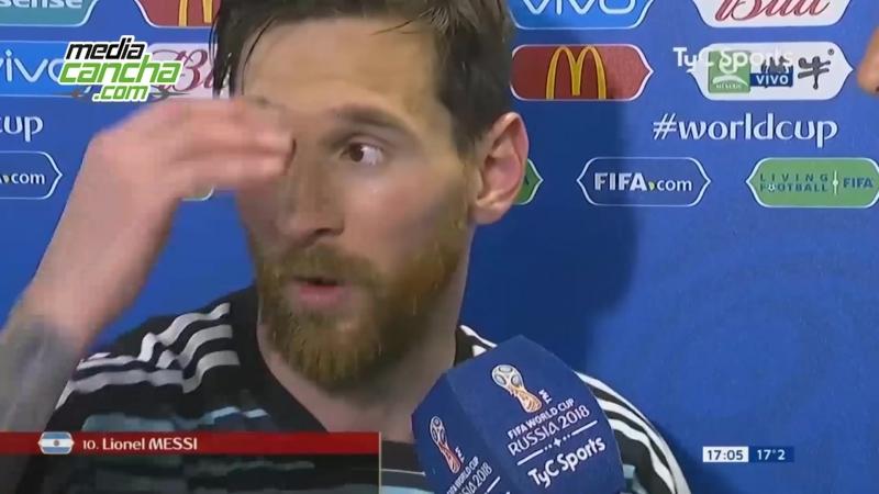Messi agradece la ayuda divina