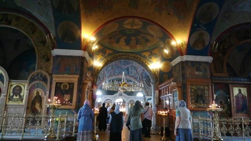 Храм Преображения Господня в Тушино-Празднование в честь Тихвинской иконы Божией Матери 9-07-2018