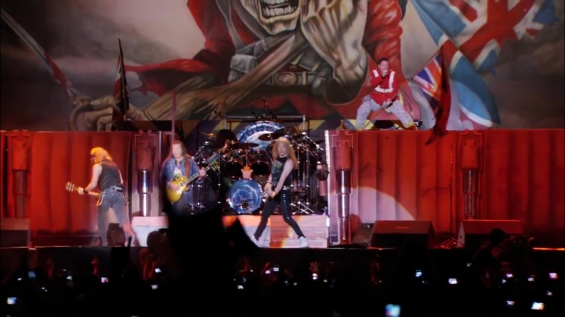 Iron Maiden - The Trooper (En Vivo!) [HD]