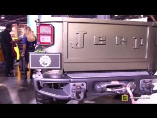 Jeep Crew Chief 715 Concept - Exterior and Interior Walkaround - 2016 SEMA