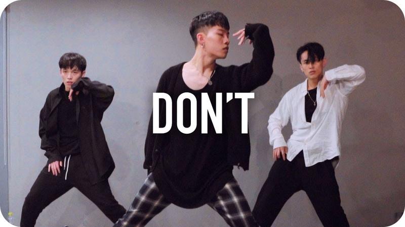 Don't - Ed Sheeran / Jinwoo Yoon Choreography