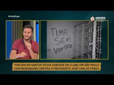 SANTOS É GOLEADO POR 5 A 1 PELO GRÊMIO E TORCIDA PROTESTA