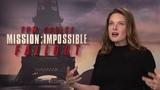 MISSION IMPOSSIBLE 6 Fallout Rebecca Ferguson Interview