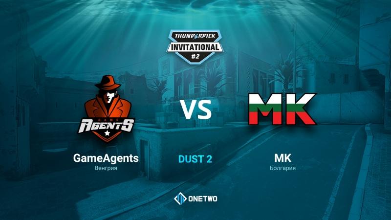 Thunderpick Invitational 2 | GameAgents vs MK | BO3 |de_dust2 | by Afor1zm