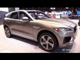 2018 Jaguar F Pace 35t S AWD - Exterior and Interior Walkaround - 2018 Chicago Auto Show