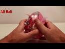 Хелло Китти Киндер Сюрприз игрушки распаковка яиц Hello Kitty