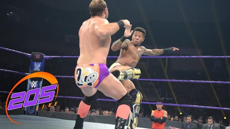 Lio Rush vs Colin Delaney WWE 205 Live July 10 2018