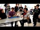 Новый мировой рекорд в сборке кубика рубика