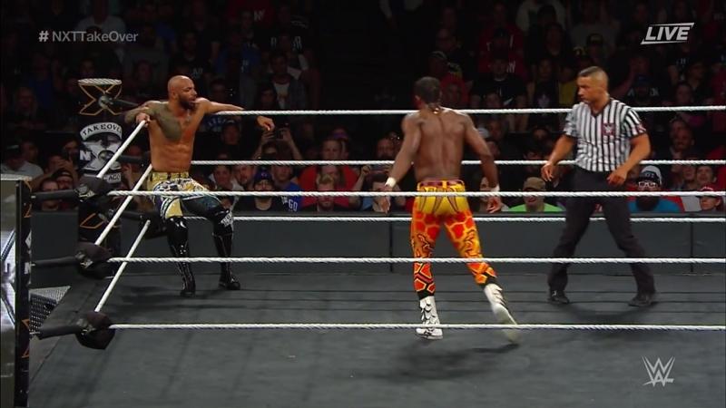 Velveteen Dream vs Ricochet (WWE NXT TakeOver: Chicago II 2018)