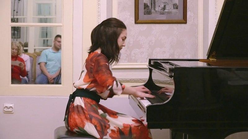 С Прокофьев Золушка и принц из балета Золушка в перелож автора для ф но Исп Юлия Михайлова