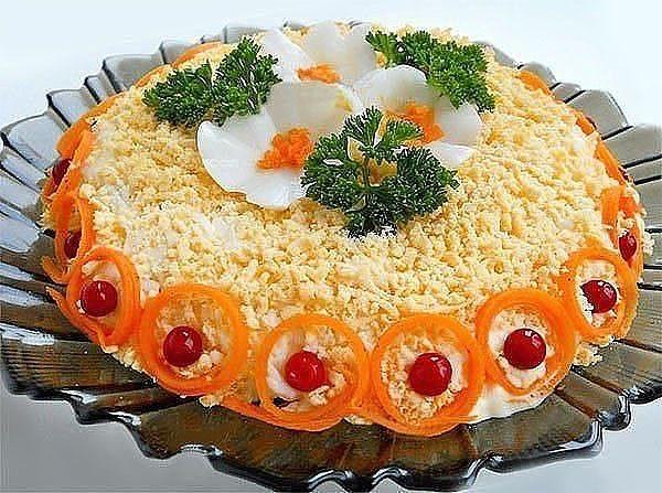 Для приготовления салата «Бунито» понадобится: