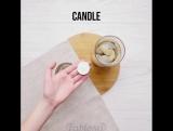 3 интересные идеи со свечами