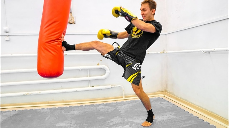 2 хорошие связки с прямым ударом ногой - Комбинации ударов в тайском боксе 2 [jhjibt cdzprb c ghzvsv elfhjv yjujq - rjv,byfwbb e