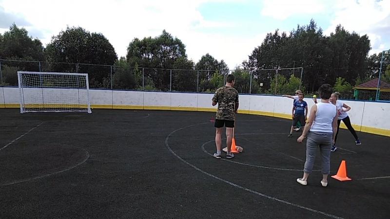 Эстафета ГТО Спартакиада Команда нашего двора 2018
