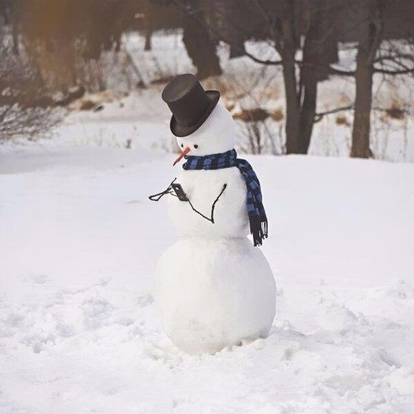 Лепите снеговиков правильно