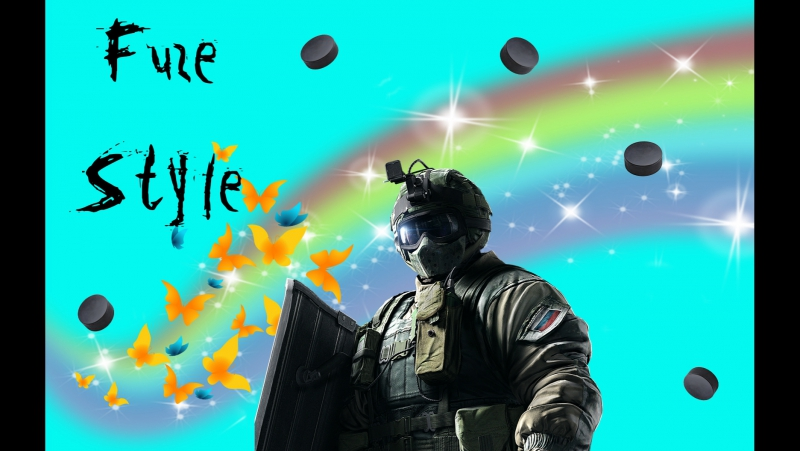 Фэйлы в Rainbow SIx - Fuze Style