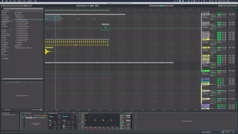 Sonic Academy - How To Make Trap with DISKORD