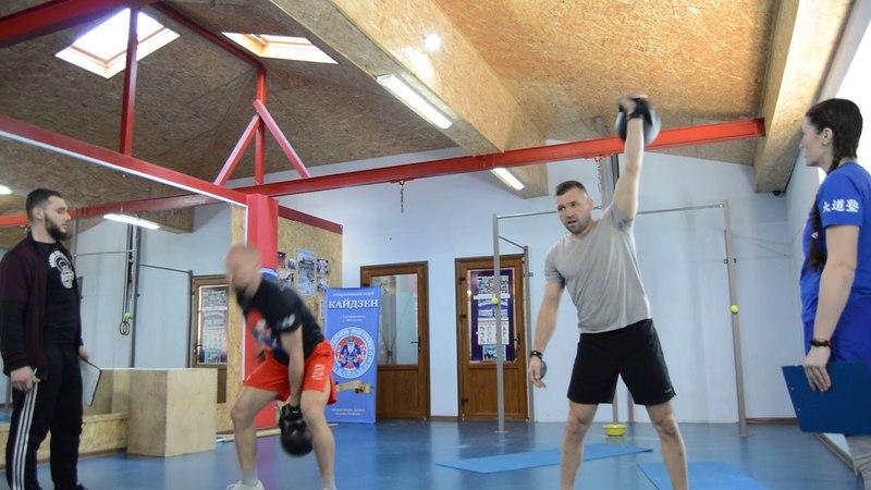 CrossFit-заруба в Феодосии 15.04.2018. Мужчины А. 1 Задание