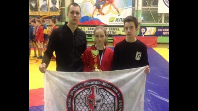 Юная самбистка из Шарьи стала лучшей на турнире городов России.