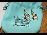 Магазин Диамант 13 Розыгрыш подарков Выиграла золотые серьги с жемчугом