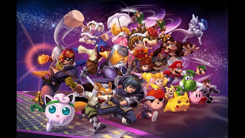 Стрим Super Smash Bros. Melee