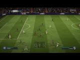 Атака и гол в FIFA18