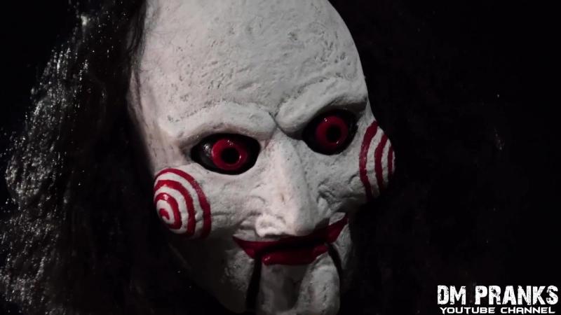 JIGSAW Killer Scare Prank!