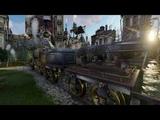 Parovoz Garden Fantasy 005