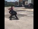 Полицейский VS хулиган