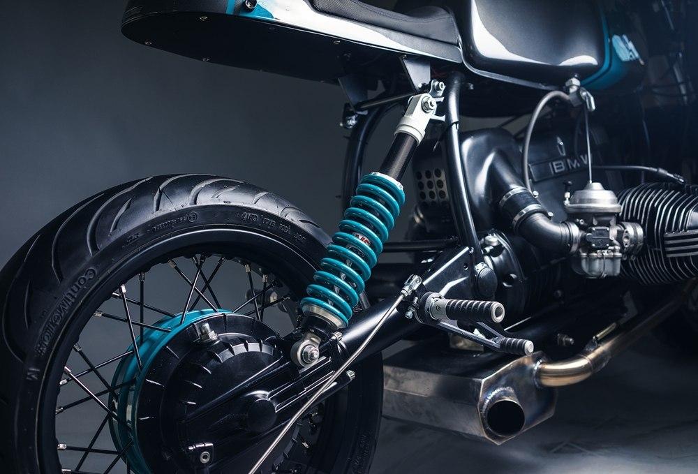 Elemental Custom Cycles: кафе рейсер BMW R80