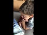 Леон читает почти 4 года