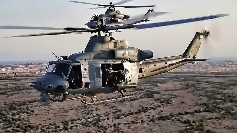 Marine Corps UH-1Y Huey Helicopter • Venom From The Sky