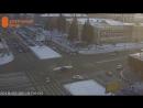 Авария Toyota RAV4 и Toyota Sprinter на перекрёстке Красного проспекта и улицы Гоголя