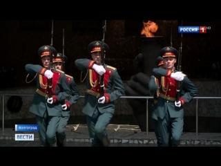 15 лучших новобранцев из Волгограда отправились в президентский полк