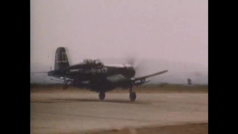 Знаменитые самолеты (5). F4U Corsair.