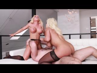 Bridgette B, Nikki Delano - Curvy Blondes Nikki Delano  Bridgette B Share Manuel Ferraras Big Cock (24.07.2018) HD 1080p