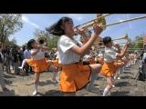 Смотр строя и музыки по японски))