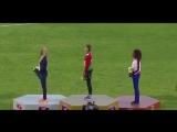 Спортсменка из Беларуси покинула победный пьедестал из-за того что гимн включили другой страны