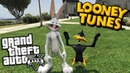 GTA 5 Mods - LOONEY TUNES MOD w/ BUGS BUNNY DAFFY DUCK (GTA 5 Mods Gameplay)
