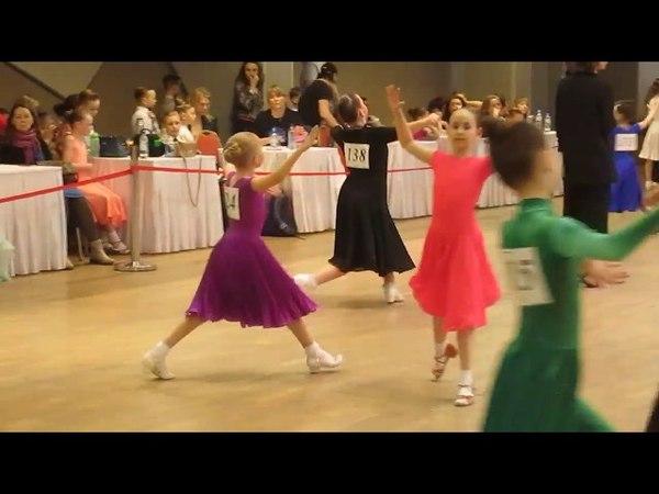 Бальные танцы соло Дети-2 ФИНАЛ Медленный вальс и Венский вальс