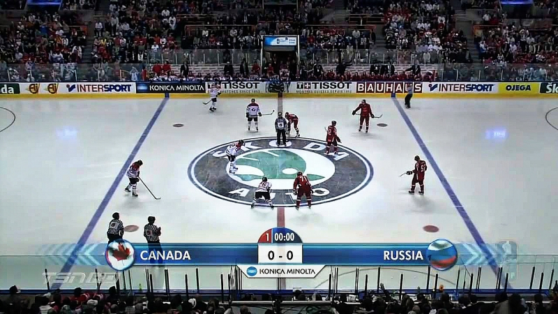 ХОККЕЙ .Чемпионат Мира 2008 финал . РОССИЯ - КАНАДА