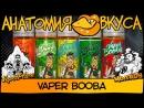 АнатомияВкуса Жидкость Vaper BOOBA