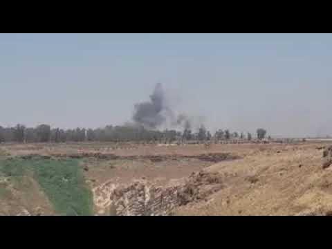ВВС САР и ВКС РФ начали наносить удары по позициям боевиков ИГ на юго западе Сирии